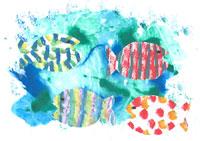 Különleges színes papírokból