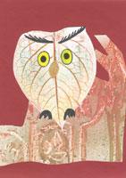 Bagoly és erdők varázslása satírozással