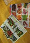Színes képek zöldségekről, gyümölcsökről