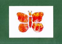 Pillangó szivacsfestéssel