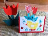 Tavaszi kreatív sablonok