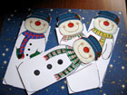 Hóemberek csomagolópapírból