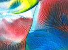Kreatív erdő színes papírokból